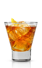 The 2-1-2 Martini is a variation of the classic Martini cocktail. Made from New Amsterdam Gin, dry vermouth and orange bitters, and serves over ice in a rocks glass.