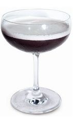 The 666 is a devilish cocktail recipe having the misfortunate for being named as such, though it's actually named for the 6 generations of the Luxardo family. A dark red colored drink made from Luxardo sambuca, raspberry liqueur, egg white, lemon juice and pineapple juice, and served in a chilled cocktail glass.