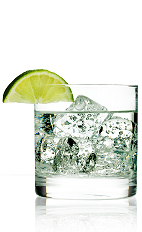 The 901 and Tonic takes the classic Gin and Tonic cocktail to task. A clear colored drink recipe made from 901 Silver tequila and tonic water, and served over ice in a rocks glass garnished with lime.