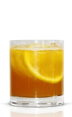 Top off a productive week at the office with your coworkers and a bowl of punch. The 9 to 5 Punch recipe is made from Basil Hayden's bourbon, pineapple juice, lemon juice, maple syrup, bitters, club soda and fruit slices, and served from a punch bowl. Recipe serves 6-8.