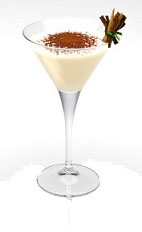 The Alexander Disaronno is a variation of the classic Alexander cocktail. A cream colored cocktail made from Disaronno, cognac and cream, and served with cocoa powder in a chilled cocktail glass.