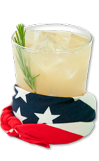 The American Honey Wild Mustang is a wildy American drink made from Wild Turkey American Honey, grapefruit juice, bitters and rosemary, and served over ice in a highball glass.