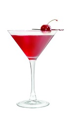 Who says alcohol has to be bad for you? The Antioxidant Apple Martini cocktail recipe is made from VeeV acai spirit, apple juice, pomegranate juice, agave nectar and lemon juice, and served in a chilled cocktail glass.