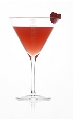The Apple Martini Blush is a red colored cocktail quickly becoming one of the ladies' favorite drink recipes. Made from Caorunn gin, pressed apple juice, gomme and raspberries, and served in a chilled cocktail glass.
