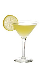 The Barberita Loca cocktail recipe is made from Boca Loca cachaca, triple sec, elderflower liqueur and lemon juice, and served in a chilled cocktail glass.