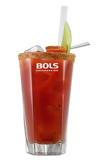 The Bloody Mary is the perfect morning after drink, well-suited to ease your hangover away. A tall red drink made from vodka, tomato juice, lemon juice, Worcestershire sauce, Tabasco sauce, black pepper and celery salt, and served over ice in a highball glass.