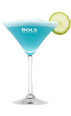 Hola tequila, como estas? The Blue Margerita is a blue cocktail made from blue curacao, silver tequila, lime juice, simple syrup and Bols Blue Foam liqueur, and served in a chilled cocktail glass.