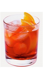 The Blueberry Compote drink recipe is made from Burnett's blueberry vodka, peach schnapps and cranberry juice, and served over ice in a rocks glass.