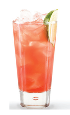 The Breeze Redesigned is a remake of the classic Breeze line of mixed drinks. An orange colored drink made from Finlandia mango vodka, cranberry juice and pink grapefruit juice, and served over ice in a highball glass.