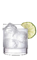 The Brotherly Love drink recipe is a clear colored cocktail made from Three Olives root beer vodka and lemon-lime soda, and served over ice in a rocks glass.