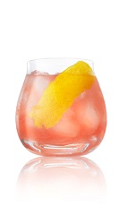 The bitterness of Campari, combined with the tartness of grapefruit, and both brought into balance with the sweetness of agave nectar, oh joy! The Cali Grapefruit cocktail recipe is a pink colored drink made from Caliche rum, Campari, grapefruit juice, agave nectar and club soda, and served over ice in a rocks glass.