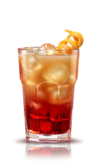 The Campari Grapefruit is an orange drink made from Campari and grapefruit juice, and served over ice in a highball glass.