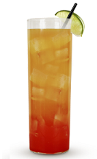 Seize the day, or the night at least, with a vibrant and commanding cocktail recipe. The Carpe Diem drink recipe is an orange colored concoction made from Cruzan mango rum, orange rum, orange juice, grenadine, lime and club soda, and served over ice in a highball glass.