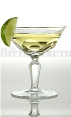 The Celery Gimlet is a modern variation of the classic Gimlet cocktail. Made from gin or vodka, lime cordial, celery bitters and lime, and served in a chilled cocktail glass.