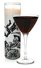 The Cenizas de Vainilla, or Vanilla Ashes in English, is a cocktail dedicated to the Day of the Dead. A dark cocktail made from SKYY vanilla vodka, Frangelico hazelnut liqueur, vanilla liqueur and chocolate, and served in a chilled cocktail glass.