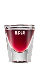 The Cherry Bomb is a cherry red shot perfect for the 4th of July. Made from cherry brandy and maraschino cherry liqueur, and served in a chilled shot glass.
