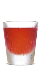 The Chocolate Covered Cherry is a brown colored shot made from Southern Comfort Bold Black Cherry and dark creme de cacao, and served in a chilled shot glass.