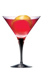 The Citroen Cosmopolitan is an exciting variation of the classic Cosmo. A red cocktail made from Ketel One citroen vodka, cranberry juice, lime juice and simple syrup, and served in a chilled cocktail glass.