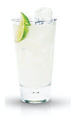 The Citrus Lemonade is a refreshing summer drink made from Finlandia vodka, grapefruit juice and lemonade, and served over ice in a highball glass.