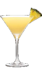 The Citrus Mist is a yellow colored cocktail recipe made from Three Olives citrus vodka, grapefruit juice, pineapple juice and triple sec, and served in a chilled cocktail glass.