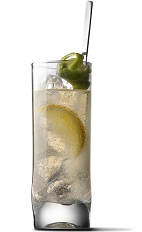 The Citrus Spritzer is a skinny cocktail recipe made from UV Citrus vodka and diet lemon-lime soda, and served over ice in a highball glass.