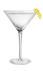 The Martini is a classic cocktail made from vodka, dry vermouth and lemon, and served in a chilled cocktail glass.