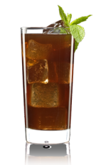 The Cola Fairy is the result of a visit by the green fairy to the Coca-Cola bottling plant. A brown colored drink recipe made from Lucid absinthe, vanilla vodka, cola and mint, and served over ice in a highball glass.
