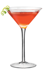 The Cosmo PAMA is a variation of the classic Cosmopolitan cocktail recipe perfect for any cocktail party. A red colored cocktail made from PAMA pomegranate liqueur, Cointreau orange liqueur, lime juice and cranberry juice, and served in a chilled cocktail glass.