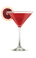 The Cranberry Kiss is a sexy red cocktail made from Smirnoff cranberry vodka, simple syrup and cranberry juice, and served in a chilled cocktail glass.