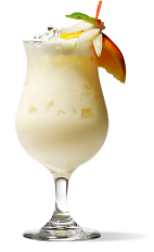 The Creamsicle cocktail recipe is a cream colored tropical drink made from UV orange vodka, triple sec, light cream and orange juice, and served over ice in a hurricane or other glass.
