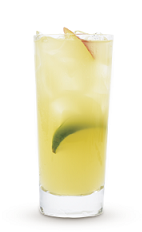The Cruzan Summer Breeze drink recipe is made from Cruzan Coconut rum, triple sec and lemon-lime soda, and served over ice in a highball glass.