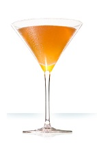 The Daiquiri is a classic cocktail made from Cointreau orange liqueur, rum, lime juice and simple syrup, and served in a chilled cocktail glass.