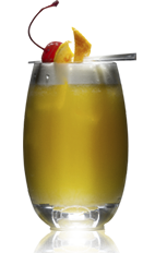 The Danzka Oranges drink is an orange colored cocktail recipe made from Danzka Citrus vodka and orange juice, and served over ice in a highball glass.