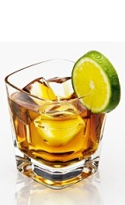The Disaronno and Lemon is an orange drink made from Disaronno and lemon or lime, and served over ice in a rocks glass.