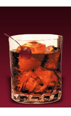 The Dubonnet Manhattan is a classy variation of the classic Manhattan cocktail. Made from Dubonnet Rouge, Evan Williams bourbon, dry vermouth and bitters, and served over ice in an old-fashioned glass.