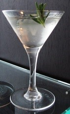 The Effen Savory is a variation of the classic Martini cocktail. Made from Effen vodka, dry vermouth and rosemary, and served in a chilled cocktail glass.