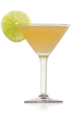 The Flamenco Royale is a stylish cocktail recipe made from Don Q white rum, mint rum, bitters, cinnamon syrup, lime juice and sparkling wine, and served in a chilled cocktail glass.