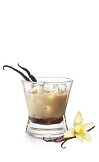 The Frangelico Mudslide is a nutty variation of the classic Mudslide cocktail. Made from Frangelico hazelnut liqueur, Carolans Irish cream, SKYY vodka and Illyquore, and served over ice in a rocks glass.