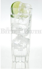 The Gin and Tonic is a classic drink made famous by the British troops stationed in India during the 1800's. The drink came about by the soldiers mixing their gin ration with their anti-malarial quinine and water, to make the medicine more palatable. This variation is made from gin, lemon bitters and tonic water, and served over ice in a collins glass.