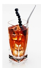 The Ginger Grape Disaronno is a refreshing summer drink made from Disaronno, grape juice, ginger ale and grapes, and served over ice in a highball glass.