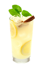 The Ginger Lemonade is a yellow drink made from Smirnoff Citrus vodka, ginger liqueur and lemonade, and served over ice in a highball glass.