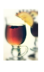 The Ginger Mulled Wine is a mulled wine perfectly served as a Halloween drink or at any fall or winter party. Made from red wine, The King's Ginger liqueur, sugar, lemon, orange, cinnamon, nutmeg and star anise, and served from a punch bowl.
