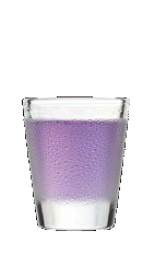 The Grapetart is a snarky little purple shot recipe made from Three Olives purple vodka and sour mix, and served in a shot glass.