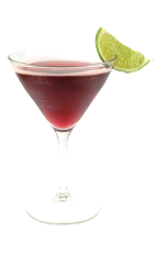 The Harvest Moon is a red drink made from Smirnoff Pomegranate vodka, Disaronno liqueur, red grape juice and lemon juice, and served in a chilled cocktail glass.