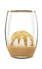 The Hazelnut Ice Cream could be considered a desert or a drink. Made from Bailey's hazelnut Irish cream, vanilla ice cream and chocolate, and served in a parfait glass, or other large glass.