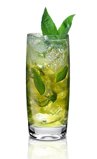 The Honey Julep is a modern variation of the classic mint julep. Made from American Honey honey whiskey, Wild Turkey, lemon juice and mint, and served over ice in a highball glass.