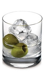 The Ketel One Dirty Martini is the perfect way to enjoy a dirty martini for those with discerning tastes. Made from Ketel One vodka, olive brine and olives, and served over ice in a rocks glass.