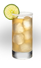 The La Paloma Suprema drink is a unique drink made from Jose Cuervo aged tequila, grapefruit soda and lime, and served over ice in a highball glass.