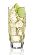 The Le Winch is a classic drink made from Noilly Prat, tonic water, lime and cucumber, and served over ice in a highball glass.