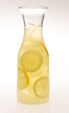The Leblon Lemonade Carafe is a yellow colored drink recipe made from Leblon cachaca and lemonade, and served from a pitcher or carafe. Recipe serves 6.